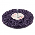 3M XT Purple Grovrengörningsrondel med spindel 150x13mm